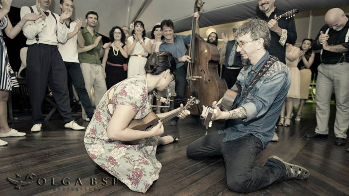Blues Cafe mit Veronica The Red Wine Serenaders